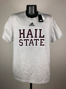 """Men's Adidas Mississippi State Bulldogs """"Hail State"""" Amplifer Tee XL NWT"""