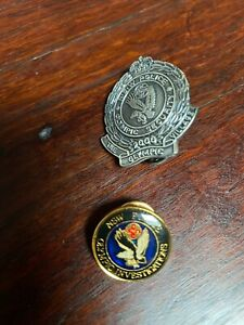 NSW Police 2000 Olympic Investigation Pin x 2