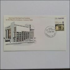 Opening of the High Court Building By The Queen 19 May 1980 FDC Issue (AP8)