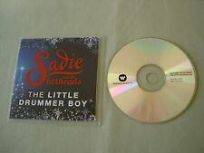 SADIE AND THE HOTHEADS The Little Drummer Boy promo CD single Elizabeth McGovern