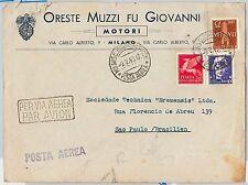 Brazil Cover Transports Postal Stamps
