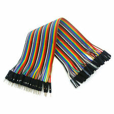 20CM Dupont Draht Kabel Linie Wire Female/Male Jumper Breadboard Arduino Neu