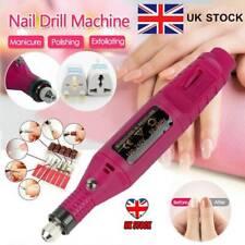 Professional Portable Manicure Pedicure Machine Kit Electric Nail File Drill