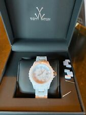 Toy Watch Monochrome White Dial M001WH - Boxed, Excellent Condition