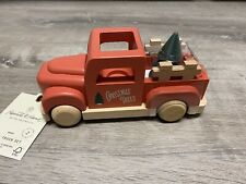 Hearth and Hand 2020 Wooden Christmas Truck