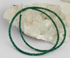 Natural Esmeralda Collar AA CALIDAD Cadena de piedras preciosas BRASIL
