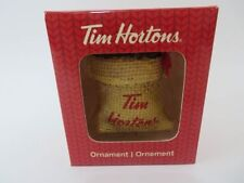 Tim Hortons Ornament 2016 Bag of Beans New in box