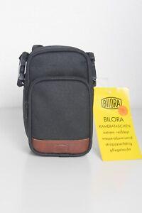 Bilora Kameratasche schwarz für Kompaktkamera 14 cm