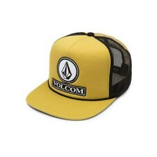 ce0fbc2c4e6 Volcom Men s Dually Cheese Five Panel Trucker Hat Baseball Cap Amber Rock  One