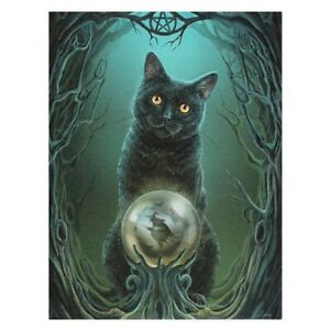 RISE OF THE WITCHES CANVAS PICTURE PRINT LISA PARKER GOTH CAT SAMHAIN HALLOWEEN