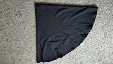 """TABLECLOTH BLACK 70"""" ROUND POLYESTER MAINSTAYS USED"""