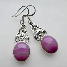 Unbranded Agate Hook Natural Fine Earrings