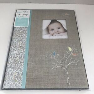 C R Gibson Linen Tree Memory Book New Old Stock B2-15559
