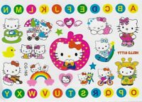 Hello Kitty Einmal Tattoos Temporary Tattoo Farbe Katze Kinder Body Sticker  K5