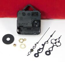 """Quartz Battery Clock Movement LIFETIME WARRANTY For 5/8"""" Thick Dial SCROLL HAND"""