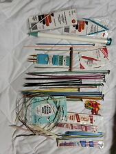 Huge Vintage Lot Knitting Needles Pairs Hooks Circular Double Point