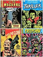 horror movie fake comics cover art 4 unofficial gildean t shirts take your pick