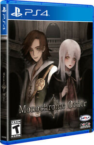 Monochrome Order Limited Run #383 PS4 ~ BRAND NEW SEALED ~ NTSC