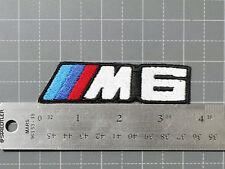 BMW M6 LOGO BADGE (M-POWER) CAR MOTORCYCLE BIKER RACING PATCH - MADE IN USA