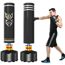 5.7ft Free Standing Boxing Punch Bag Stand MMA Kick Martial Art Training