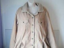 Old Navy Womens  XL Coat  Brown Corduroy Fleece Lined