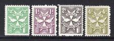 Malta 1967 Postage Due Set of 4 MNH Perf 12 Wmk Maltese Crosses
