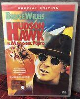 Hudson Hawk Il Mago Del Furto DVD Nuovo Sigillato Bruce Willis Michael Lehma