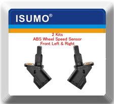 2 ABS Wheel Speed Sensor Front Left & Right Fits:Mazda 3  0-14  Mazda 5  6-14