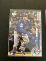 Nico Hoerner 2020 Topps Rookie Card Lot (3) Chicago Cubs