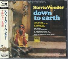 STEVIE WONDER-DOWN TO EARTH-JAPAN SHM-CD D50