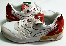 Original Sneakers Diadora N9000 III 501.171853 01 C1734 White/Red Capital