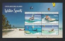 COCOS Islands 2019 WATER SPORTS of Cocos MINISHEET  MNH.