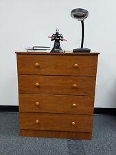 Bedroom Modern Furniture - 4 Drawer Bedroom Dresser - CHERRY.*