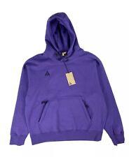 Nike ACG Pullover Hoodie NRG Nikelab Sweatshirt Purple Mens Sz M BQ3453-547