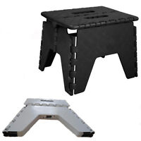 Step Stool Hard Plastic Foldable Home Work Kitchen Foldable Chair Single Step