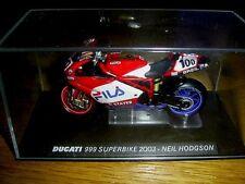 DUCATI 999 Superbike 2003 Neil Hodgson 1:24 DIE-CAST Ixo Altaya