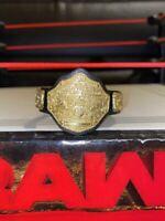WWE WCW WORLD CHAMPIONSHIP BELT JAKKS WRESTLING FIGURE ACCESSORY