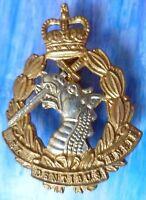 Badge- Royal Army Dental Corps Cap Badge QC Ex Dentibus Ensis Badge (BRASS*)