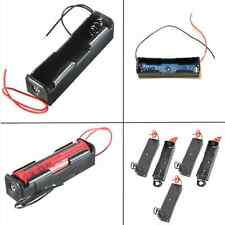5Pc Plastic 3.7V Clip Holder Storage Box Case for 18650 Rechargeable Battery DIY