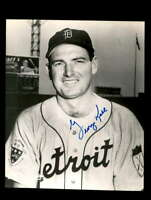 George Kell Hand Signed 8x10 Photo Autograph Detroit Tigers