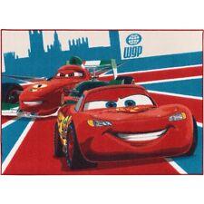 Kinderteppich Cars 2 McQueen & Francesco Teppich 95x133 cm rot blau