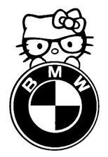 BMW Pussy cat Logo Novelty stickers