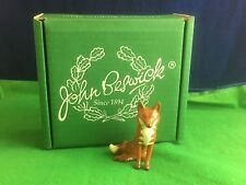 Lovely Beswick Pottery ''Sitting Fox'' Figurin Made In Egland USC RD6551