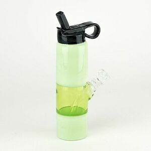 """""""Water Bottle"""" Mini Water Pipe - 5 Colors - Functional Art by Empire Glassworks!"""