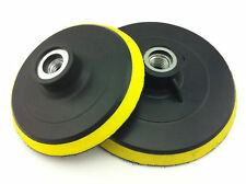 "Professional 5"" Velcro Backer Pad Suitable for Angle Grinder with a 5/8 Thread"