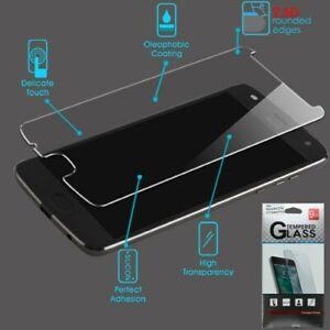 Motorola Moto E4 PLUS Tempered Glass Screen Protector ShockProof LCD Guard Film