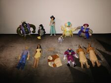 Vintage Disney Movie Character Toys Pocahontas and Aladdin Figures Lot