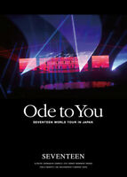 SEVENTEEN WORLD TOUR ODE TO YOU REGULAR EDITION DVD + PHOTOCARD JAPAN Tracking