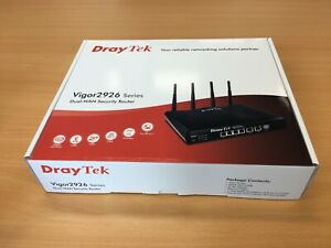 DrayTek Vigor2926 Dual-WAN broadband routers