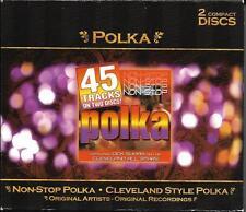 DOUBLE CD 45T POLKA NON - STOP POLKA & CLEVELAND STYLE POLKA DICK SUHAY DE 2003